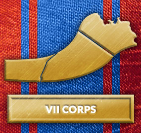 VII Corps Sector